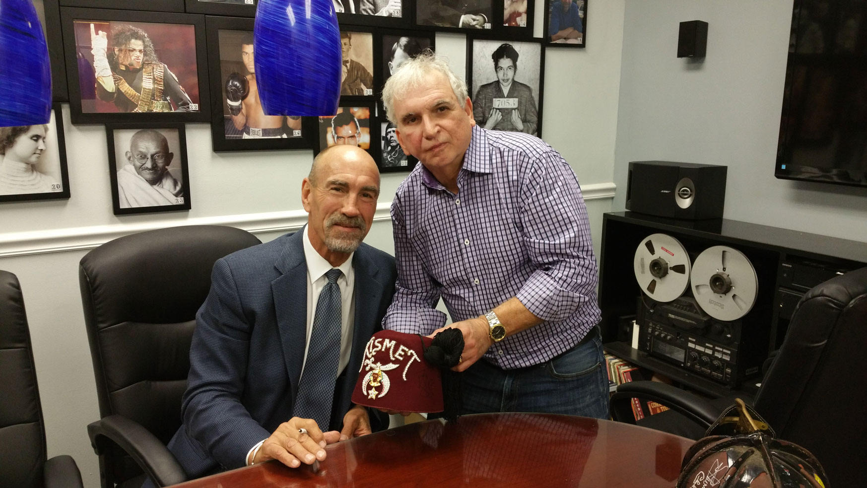 Bobby Nystrom and Nightlife Publisher Mike Cutino