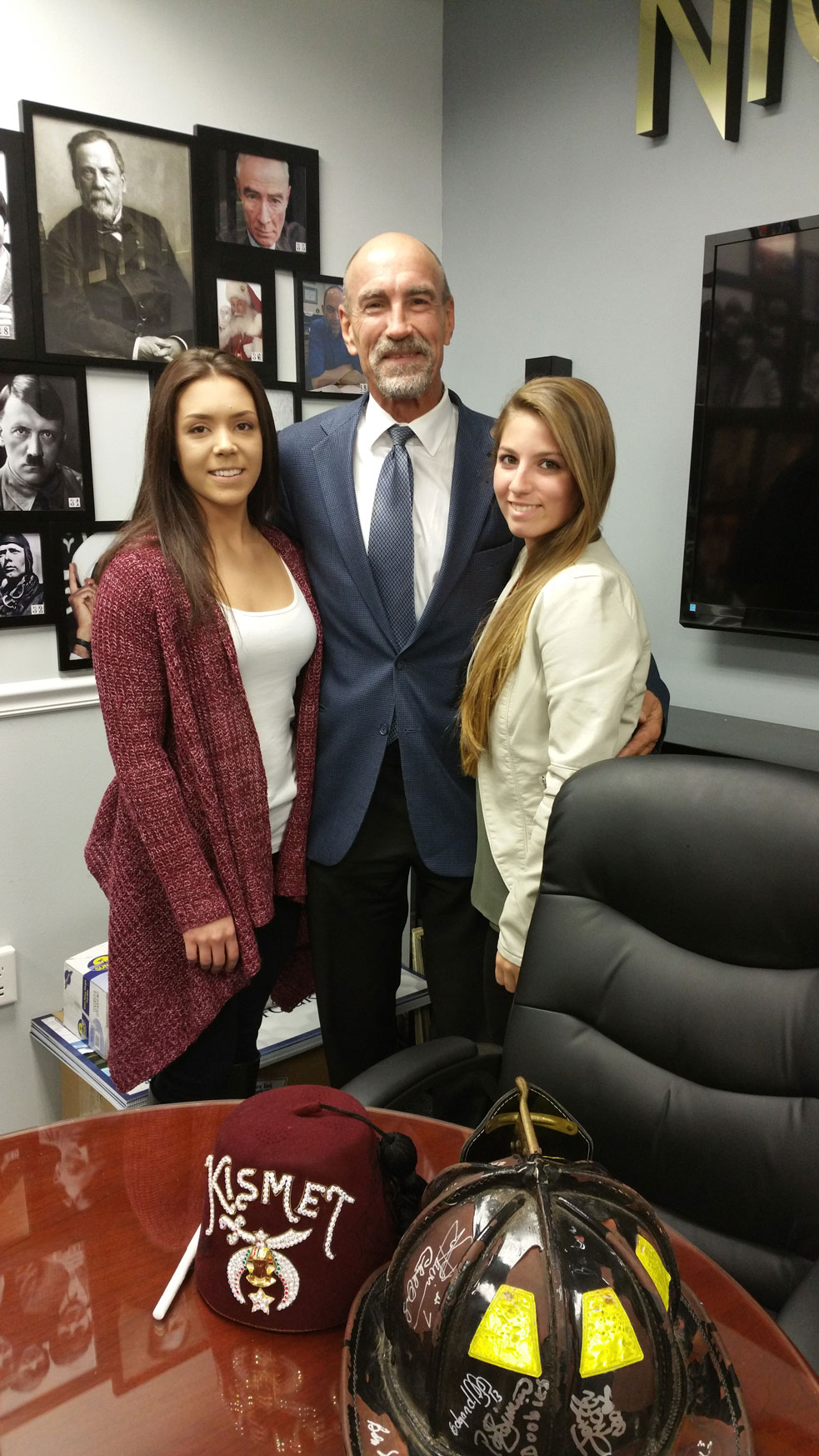 Bobby Nystrom and Nightlife Mag Staff