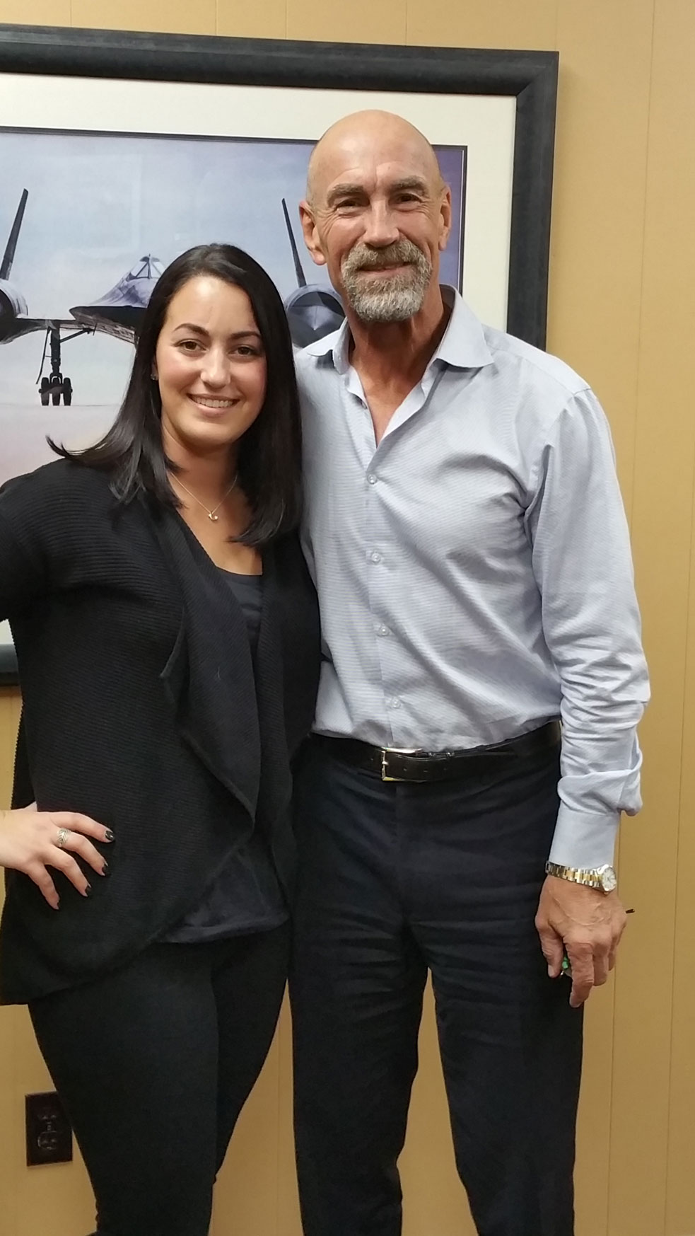 Bobby Nystrom And NYSCF Laura