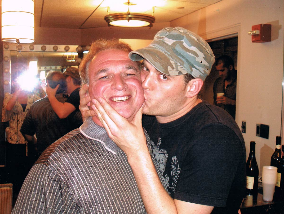 Michael Buble and Mike Cutino