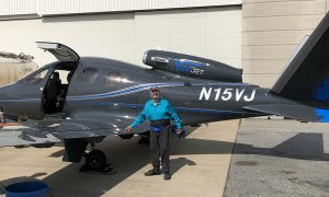 Cirrus SF50 with Ron